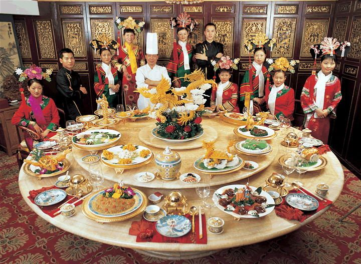 Since China's local dishes get their own typical characteristics, generally, Chinese food could be roughly split into eight regional cuisines,that has been widely accepted around. Description from chinese.culturextourism.com. I searched for this on bing.com/images