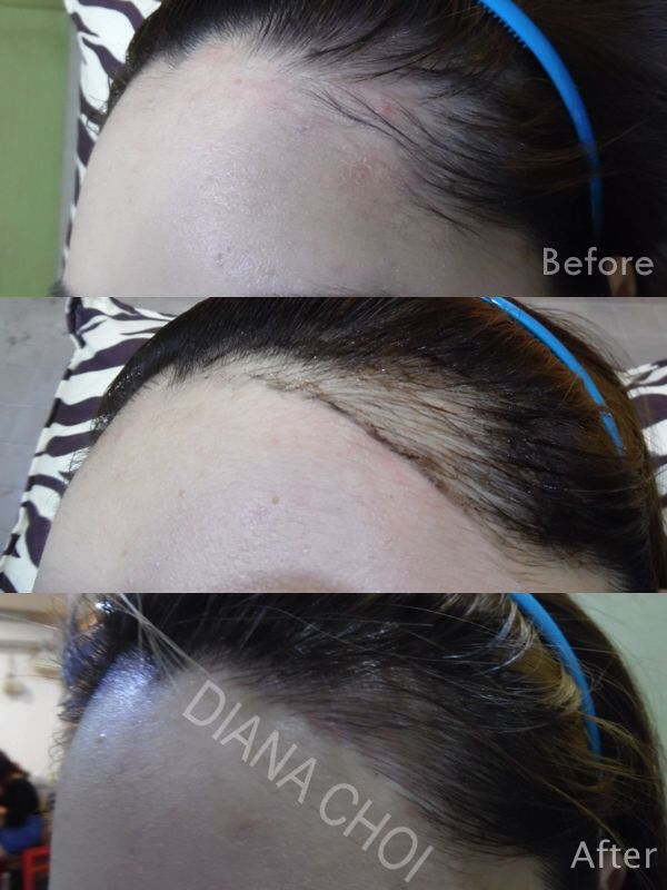 Best 25 hairline tattoos ideas on pinterest girl neck for Tattoo under hairline