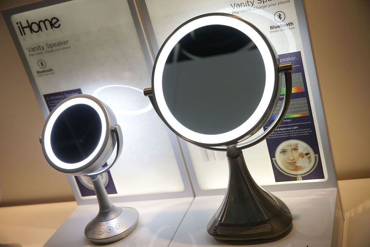 iHome put a Bluetooth speaker in a vanity mirror because why not? | The Verge