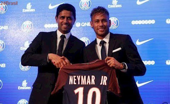 Neymar é apresentado oficialmente como novo camisa 10 do PSG: COLETIVA COMPLETO
