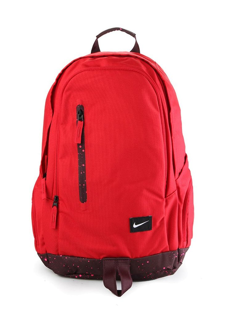 All Access Fullfare by Nike. Backpack with 2 compartment, mesh pocket, dual side pocket for secure, solder straps for a comfortbale carrying, perfect bag for everyday use, or for a holiday backpack, since it has the hook and loop closures and protected zipper. http://www.zocko.com/z/JIGXk