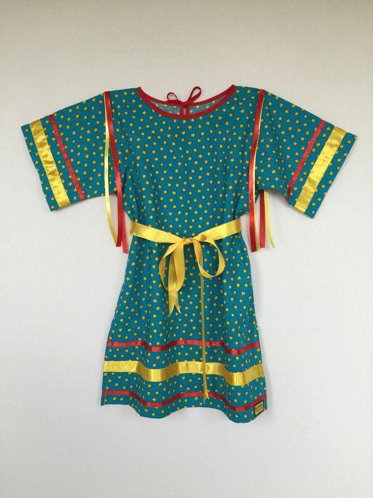 Native american regalia nakoda made tiny tot ribbon
