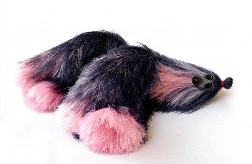 миниатюрные собаки, милые плюшевые игрушки, афганская борзая, розовый темно-figuri голубой собаки