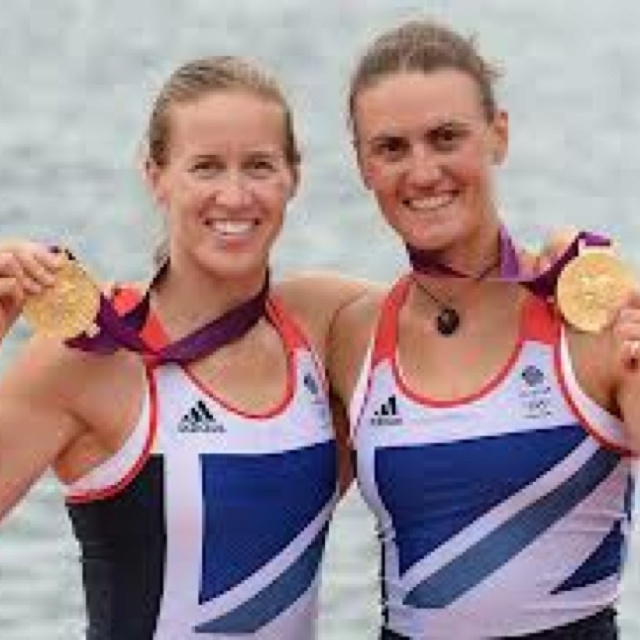 'Well Done' to Team GB - Helen Glover and Heather Stanning winning First time ever - for British Female Rowers, an Olympic title GOLD Medal • »☜♡☞« •