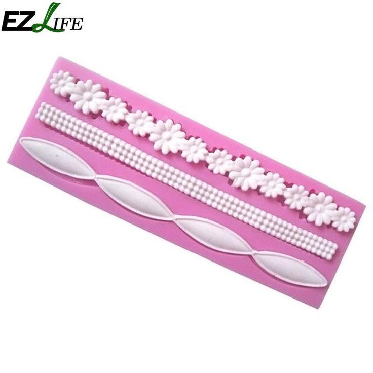 [US $3.40] EZLIFE Silicone Mold Cake Decorating Fondant Rope Shape 3D  #cake #decorating #ezlife #fondant #mold #rope #shape #silicone