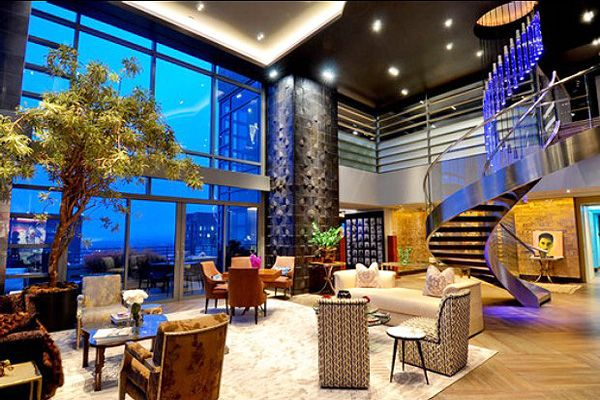 Image gallery luxury penthouses in manhattan for Luxury penthouses in new york