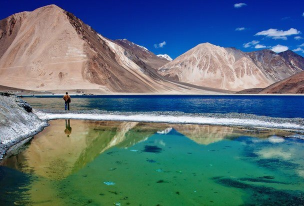 Leh India  City pictures : Lake Pangong Tso, Ladakh, India