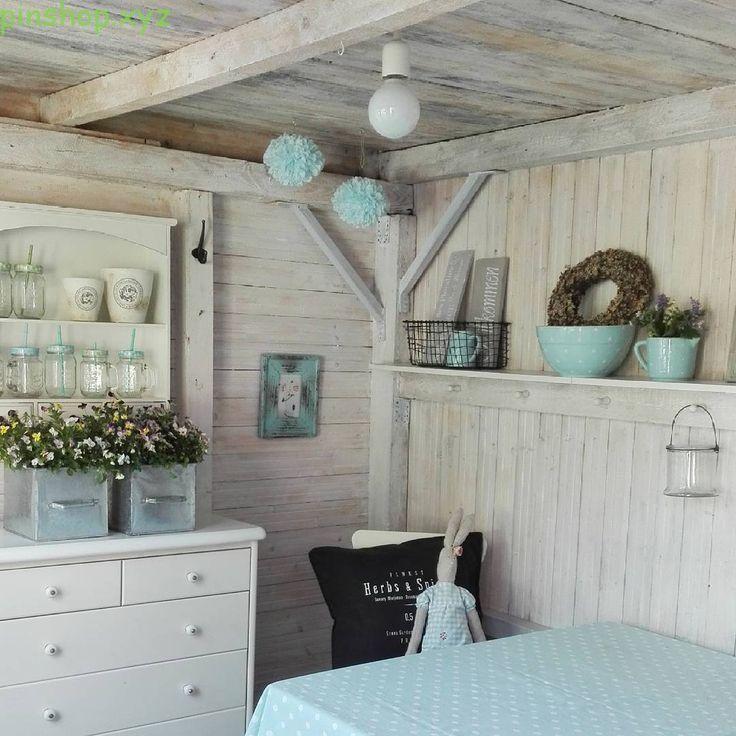Wir haben für Sie mit Farbe und Fantasie ein Gartenhaus
