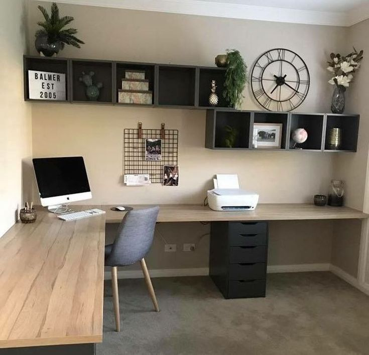 37 Classy Bedroom Office Space Ideas