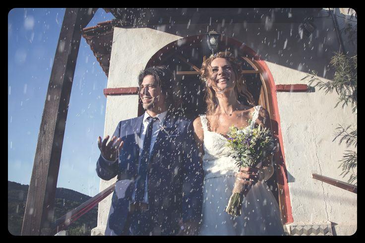 Wedding Day #wedding #weddingday #weddingdress #bride #groom #rice