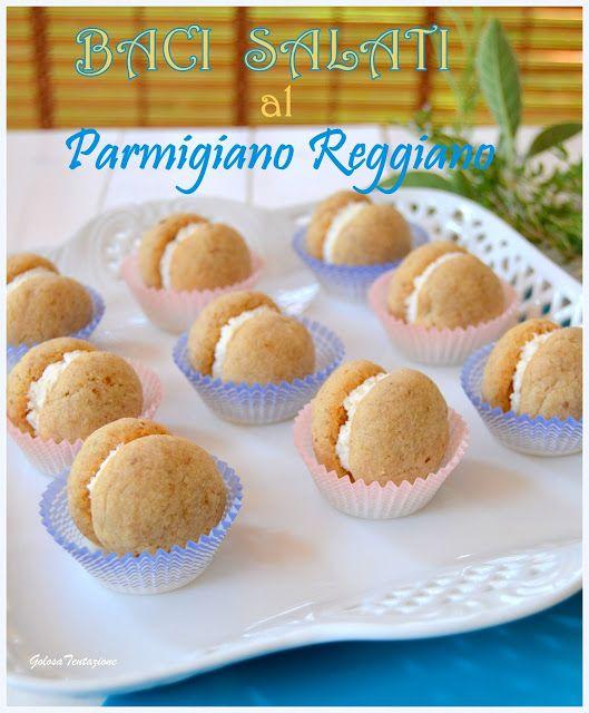 Baci salati alle noci e Parmigiano Reggiano