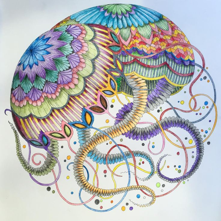 coloring ideas-jellyfish