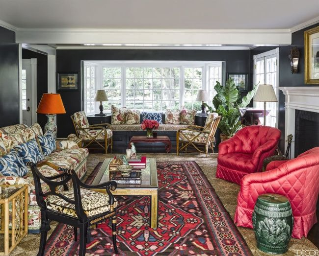 Colored Rooms 268 best brightly colored rooms images on pinterest
