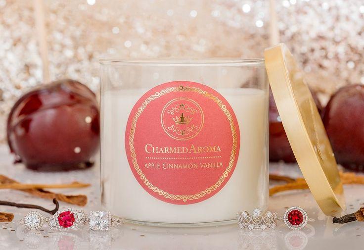 Apple Cinnamon Vanilla Candle