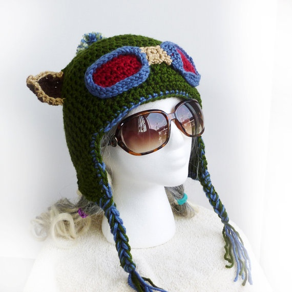 #LeagueofLegends Teemo Inspired Hat by Cuteling ($50)