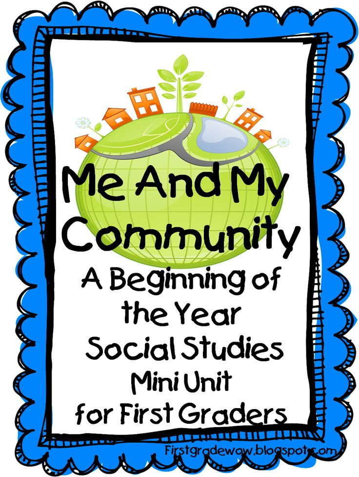 """Me and My Community: A Beginning of the Year Social Studies Mini Unit"""