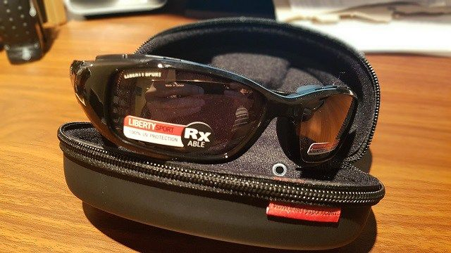 Liberty Sport Rider for Dry Eyes and Motorcycle eye protection