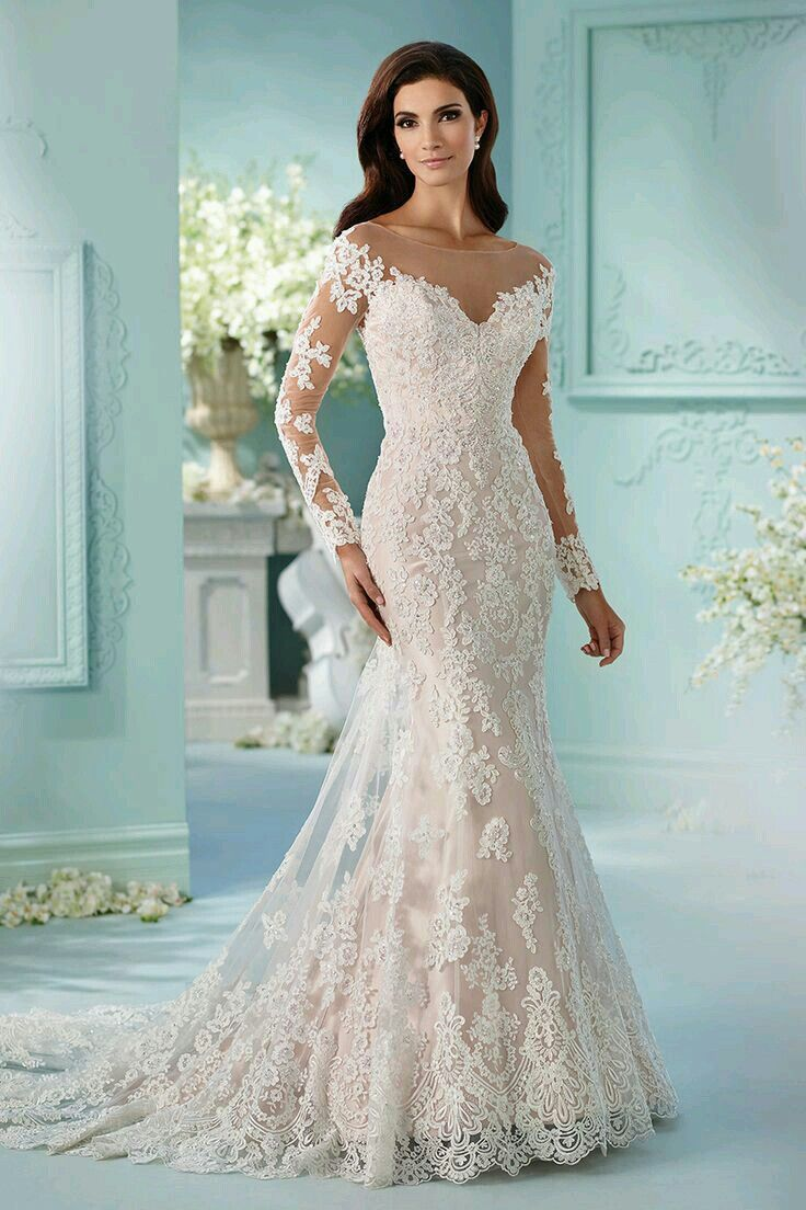 37 best Wedding Dresses images on Pinterest | Gown wedding, Mermaid ...