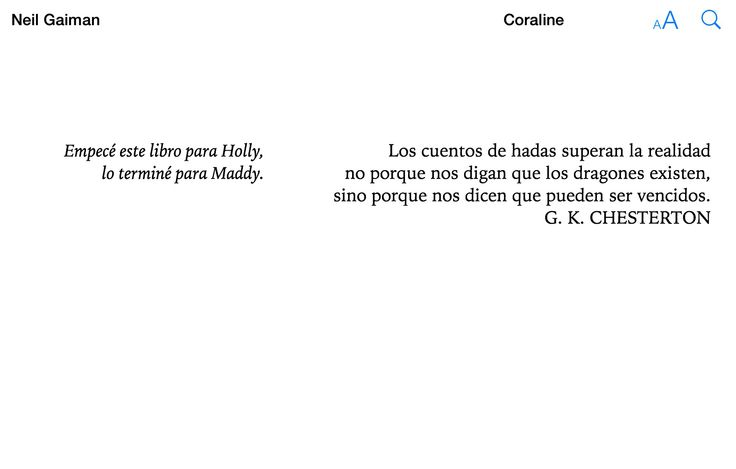 Libro: Coraline de Neil Gaiman