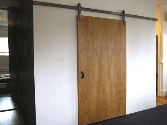 simple elegance sliding door hardware from krown lab