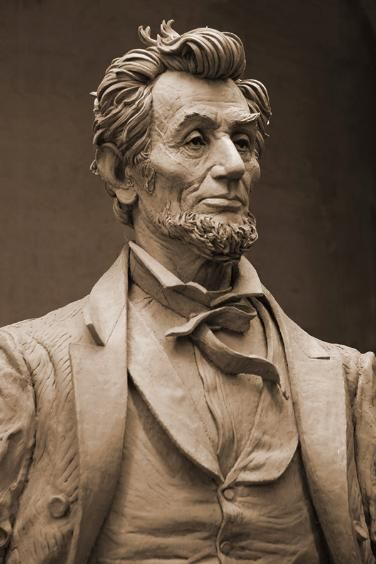 Abraham Lincoln bust by Frank Porcu