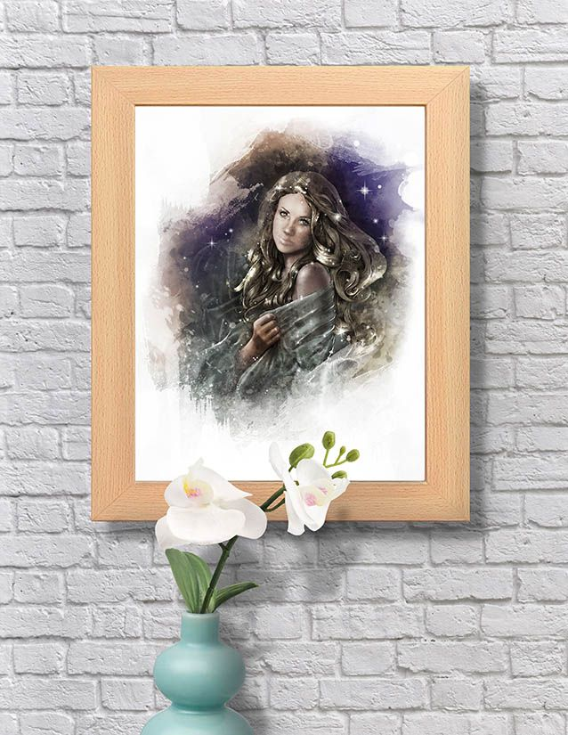 Virgin Girl Wall Art Girls Wall Art Art Amazing Art
