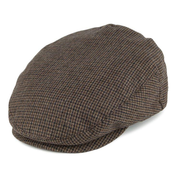 Brixton Hats Hooligan Flat Cap - Brown Combo from Village Hats.