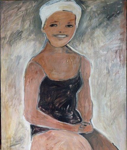 Shwimmergal   oil on canvas   60cmx80cm Www.cassiethring.com