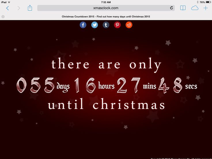 In 56 days, it will all be over!  Let us help you get a head start on your holiday shopping at #latidaboutique.  Keep track of the #countdowntochristmas here Christmas Countdown 2015 - Find out how many days until Christmas 2015: http://www.xmasclock.com/