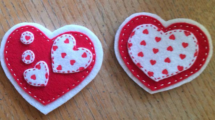 Lovely felt magnets