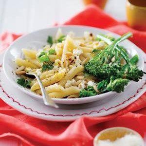 Lemony pasta