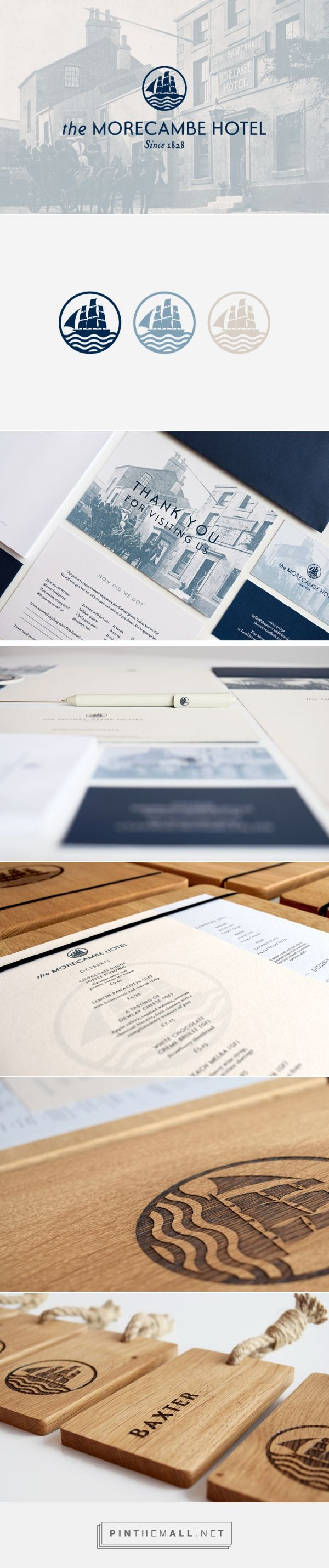 The Morecambe Hotel Branding - The Design Attic - created via https://pinthemall.net
