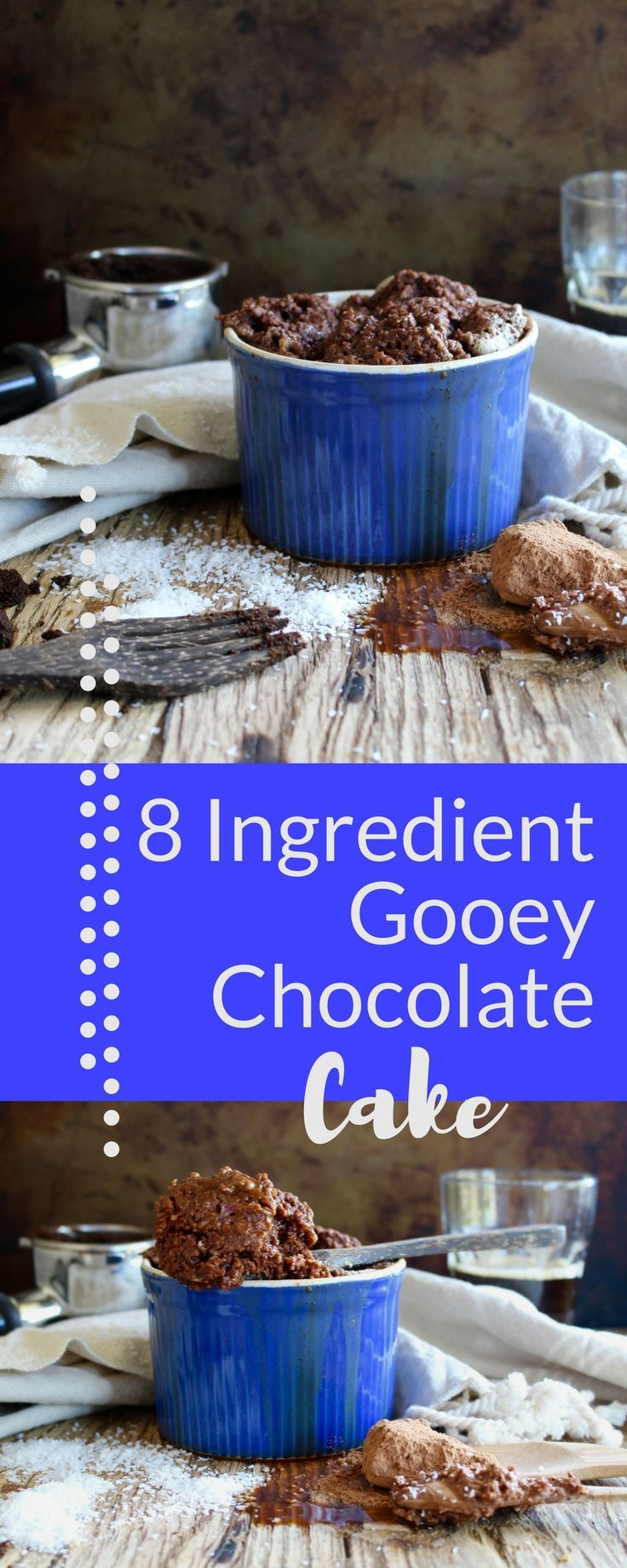 | chocolate cake | vegan cake | gluten free dessert | mocha | microwave cake | Make this healthy, vegan microwave mug cake that combines chocolate and coffee and is quick and easy!