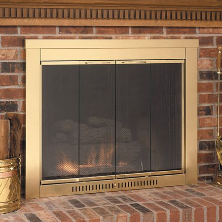 Best 25 fireplace glass ideas on pinterest cleaning for Residential retreat fireplace doors