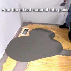 Floor Leveling Compound Over Vinyl Tiles