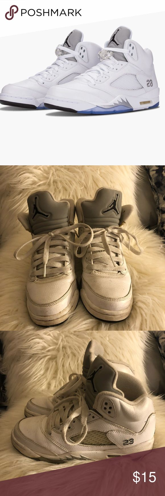 Jordan retro 5 Retro 5 Jordan good condition I'm not very good at cleaning sneakers scratchers shown on last picture Air Jordan Shoes Sneakers