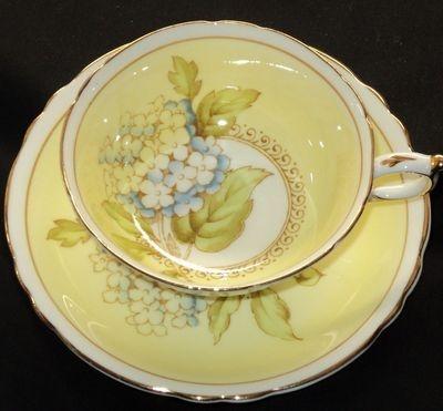 Paragon ELITE CREAMY YELLOW simplyTclub Tea cup and saucer