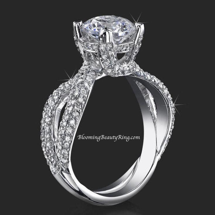 192 best Custom Engagement Rings images on Pinterest Rings