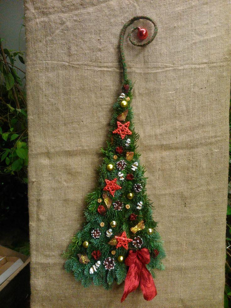Christmas door decoration,Karácsonyi ajtódísz  Forest Garden Studio