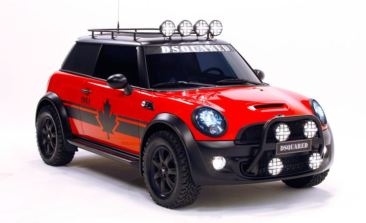 """Mini Commissions the One-Off """"Red Mudder"""" To Raise Money for AIDS ..."""