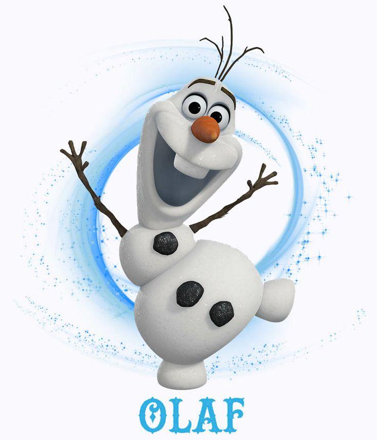Camiseta niña muñeco de nieve Olaf. Frozen: el reino del hielo Preciosa y original camiseta para niña y también para niño de una de los protagonistas del film, Olaf el muñeco de nieve encantado y perteneciente a la exitosa película Frozen: el Reino del hielo.