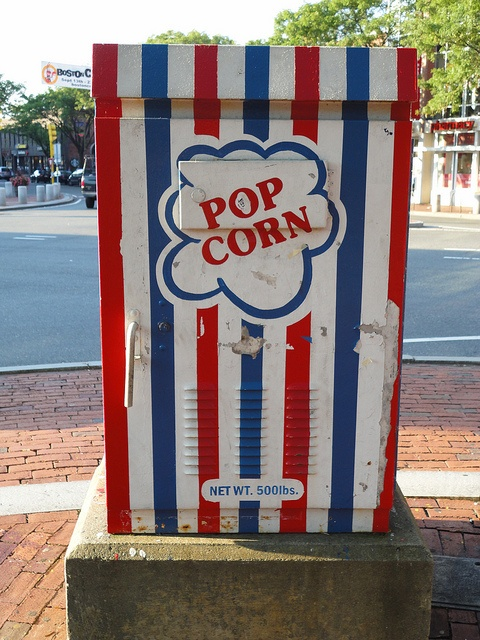 DiscoverDavisSquare.com: Popcorn, Photos, Night, Town, Placeness, Massachusetts