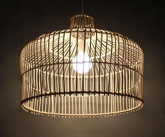 Rattan Elegant Pendant Lights Decorative Lighting Rustic Lighting