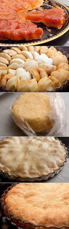 Tart tatin. Франзузский пирог — Вкусные рецепты