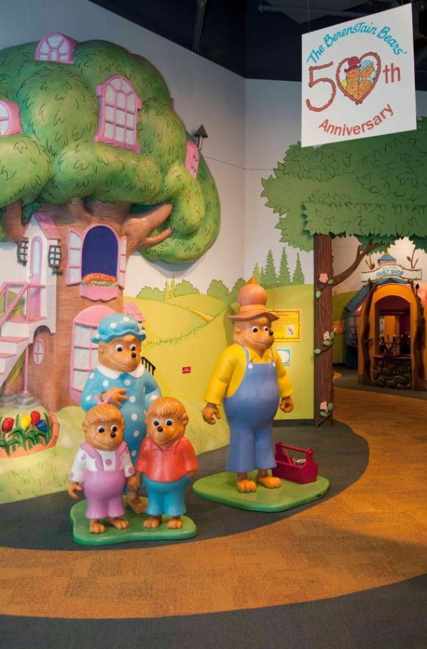 The Berenstain Bears are celebrating their 50th anniversary this year. Congratulations to @TheBerenstains!