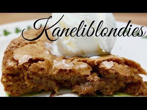 Kaneliblondies