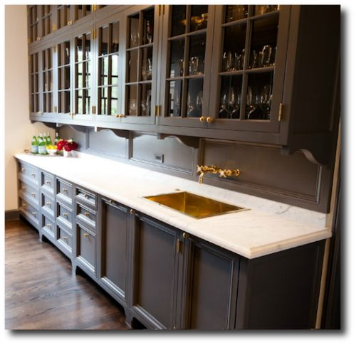 Perhaps Painted Cabinets Since Floors Are Wood Love A