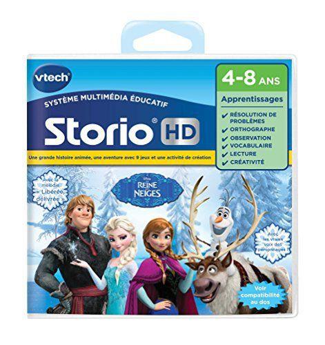 Vtech – 274505 – Jeu Pour Tablette – Hd Storio – La Reine Des Neiges: Apprenez en vous amusant avec vos héros de la Reine des Neiges.…