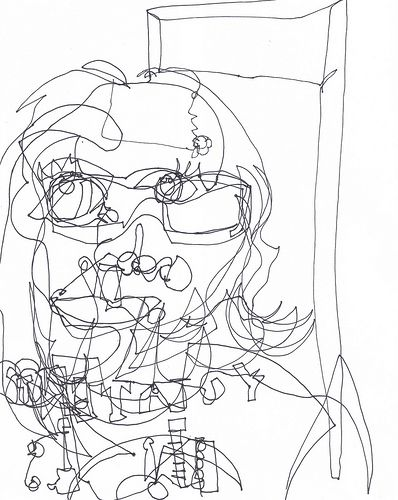 Blind Contour Line Drawing Lesson Plan : Best seurat for kids images on pinterest art lessons