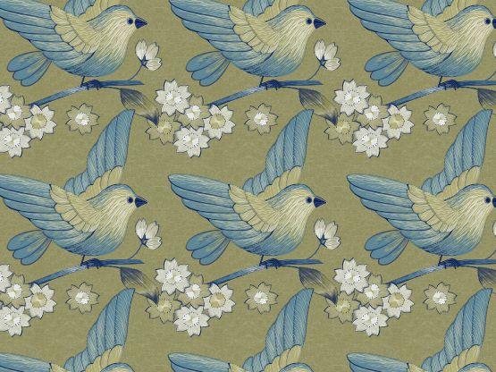 """""""Lotus Bird"""" by Butterflyminder"""